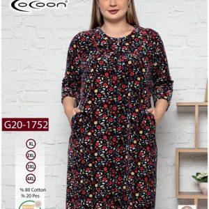 купить Женский халат Cocoon 20-1752 Красный фото