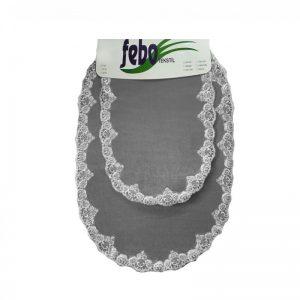купить Набор ковриков FEBO O01 GREY Серый фото