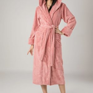 купить Женский халат Nusa ns 8655 pudra Розовый фото