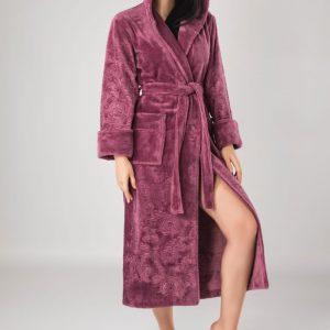 купить Женский халат Nusa ns 8655 murdum Лиловый фото
