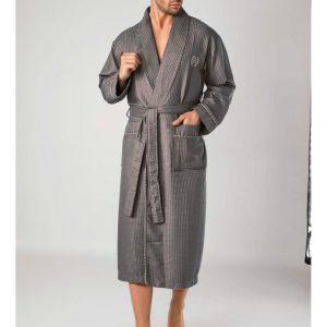 купить Мужской халат Nusa ns 12680 tas Серый фото