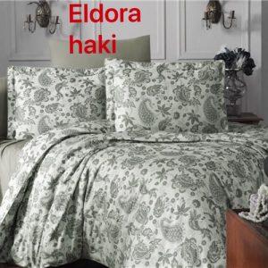 купить Постельное белье Altinbasak жаккард eldora haki Зеленый фото