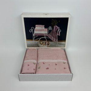 купить Набор полотенец DIAMOND JULIA PUDRA Розовый фото
