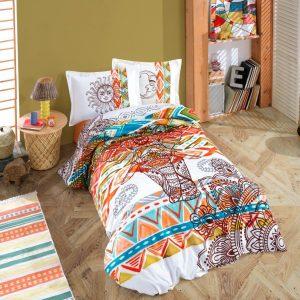 купить Постельное белье Hobby Home Poplin Mandala Оранжевый фото