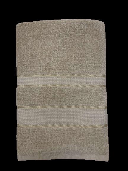 купить Махровое полотенце FaDolli Ricci Latte 1100 70x140 бежевый Бежевый фото