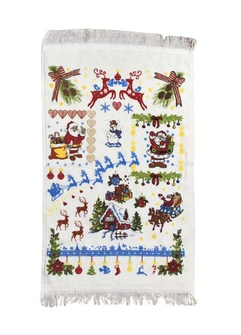 купить Кухонное полотенце Melih New Year 40x60 Зеленый фото
