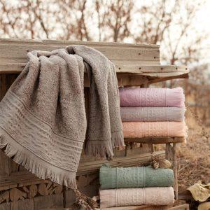 купить Набор махровых полотенец Sikel Bamboo Alacati 70x140 6 шт  фото