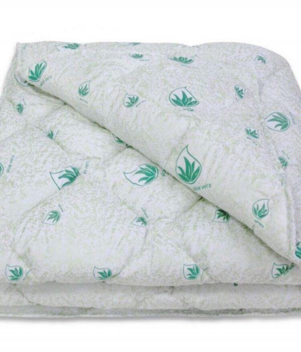 купить Одеяло антиаллергенное Vende Алое Вера Light Белый фото