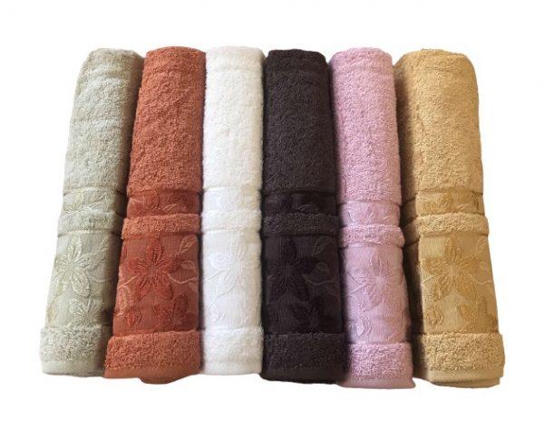 купить Набор махровых полотенец Sikel Cotton Mimoza 50x90 6 шт  фото