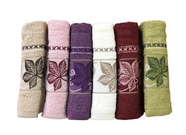 купить Набор махровых полотенец Purry Cotton Cinar 50x90 6 шт  фото