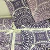 купить Постельное белье Zugo Home ранфорс Colin V1 mor Фиолетовый фото 112410