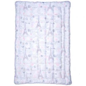 купить Одеяло Славянский пух Paris розовый  фото