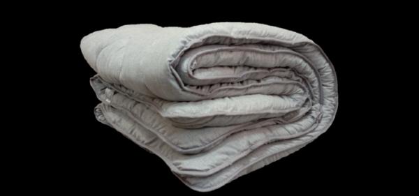 купить Одеяло Славянский пух Котон серый Серый фото
