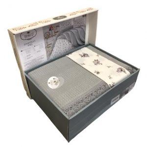 купить Летнее постельное белье Do & Co Dantelli серый Серый фото