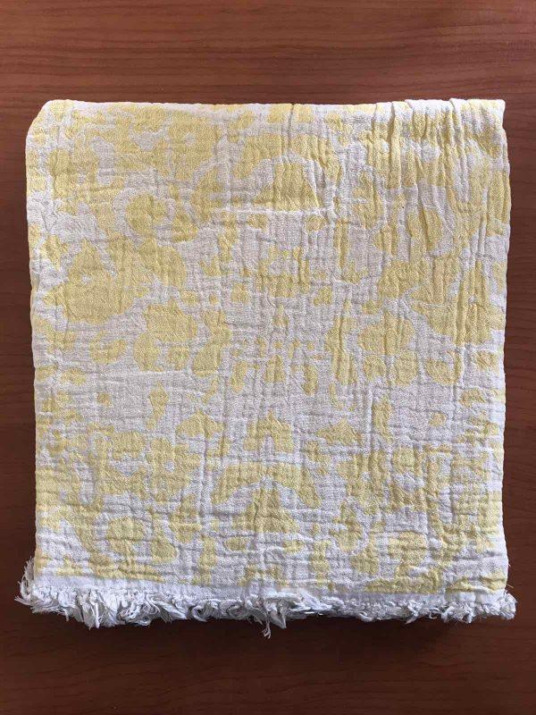 купить Пляжное полотенце Gold Soft Life pestemal Milos 100x180 Желтый фото