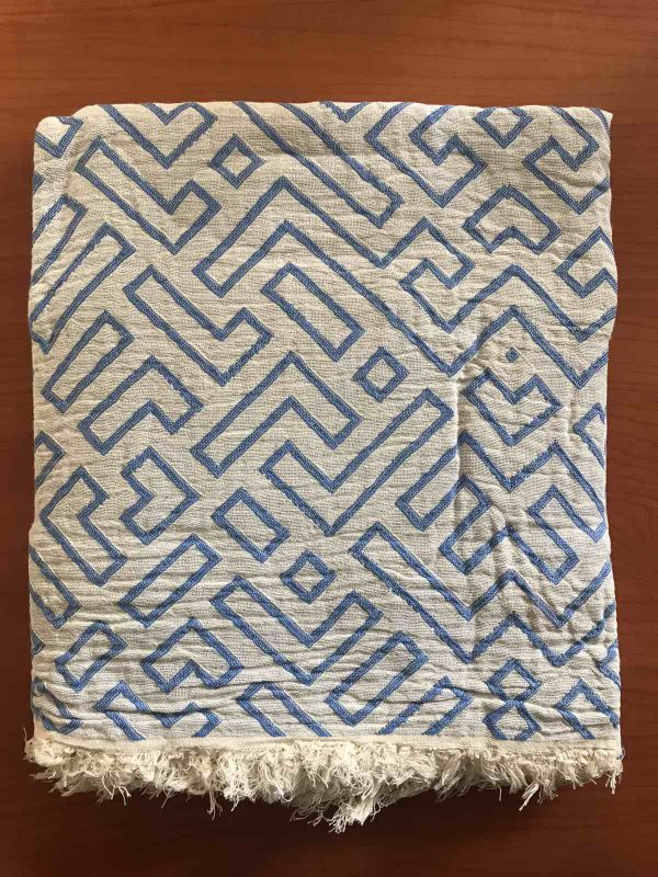 купить Пляжное полотенце Gold Soft Life pestemal Real 100x180 Синий фото