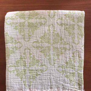 купить Пляжное полотенце Gold Soft Life pestemal Flower 100x180 Зеленый фото