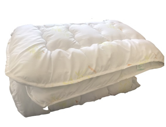 купить Одеяло Славянский пух c волокнами на основе Бамбука Белый фото