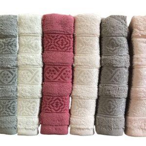 купить Набор махровых полотенец Miss Cotton хлопок Trio 50x90 6 шт  фото