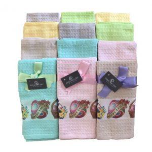 купить Набор кухонных полотенец Gold Soft Life Easter 40x60 12 шт  фото