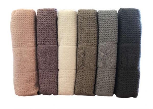 купить Набор махровых полотенец Mercan Cotton жаккард Jumbo 70x140 6 шт  фото