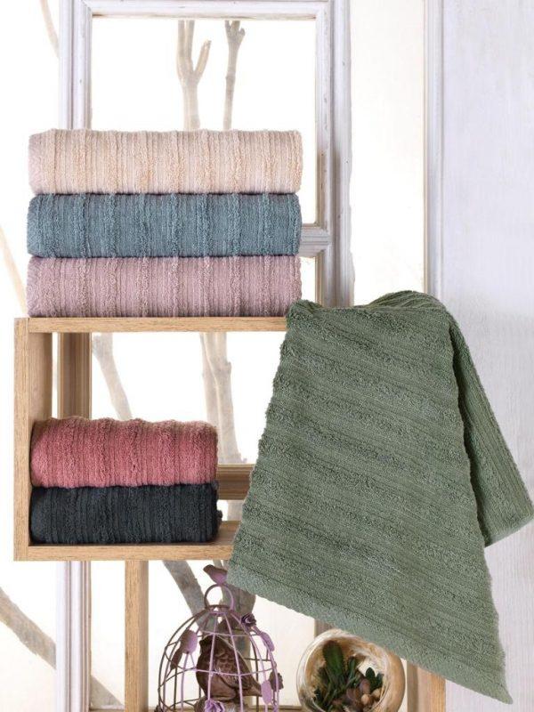 купить Набор махровых полотенец Sikel жаккард Bohem 50x90 6 шт  фото