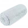 купить Махровая простынь-покрывало Пике Sikel cotton Botanik 200x220 мятный Ментоловый фото