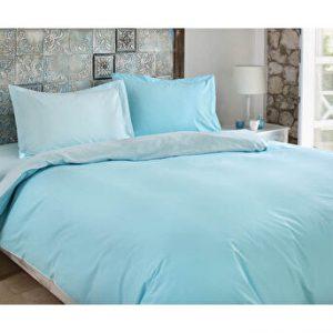 купить Постельное белье Ozdilek ранфорс Color Mix голубой Голубой фото