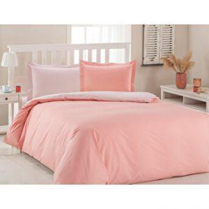 купить Постельное белье Ozdilek ранфорс Color Mix розовый Розовый фото