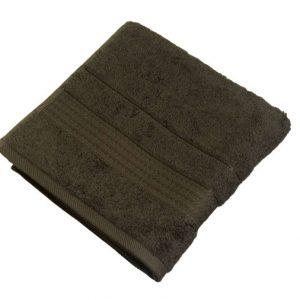 купить Махровое полотенце Ozdilek Trendy k.kahve 50x90 коричневый Коричневый фото