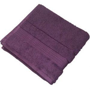 купить Махровое полотенце Ozdilek Trendy murdum 50x90 фиолетовый Фиолетовый фото
