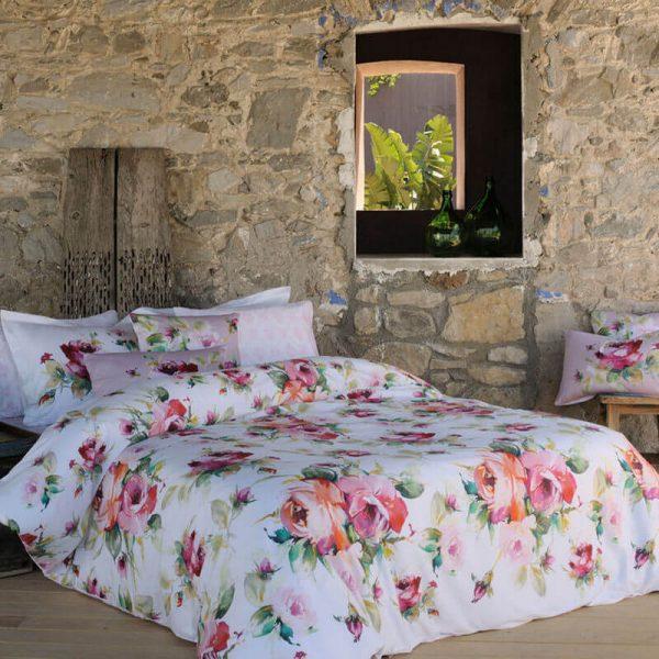купить Постельное белье ТАС Leslie Сатин-Digital Розовый фото