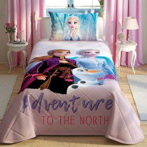купить Детское покрывало с наволочкой TAC Frozen2 Розовый фото