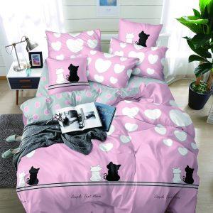 купить Постельное белье Bella Villa микросатин SP 41-42 Розовый фото