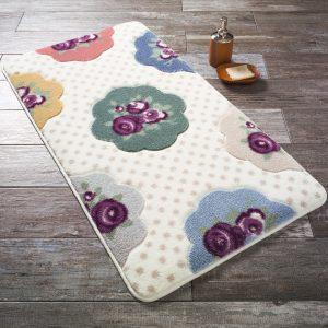 купить Коврик для ванной Confetti Bundle Purple Mor Бежевый фото