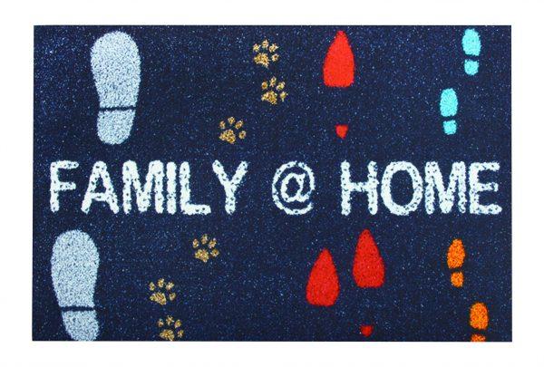 купить Придверный коврик PEPPINA 40*60 FAMILY HOME Синий фото