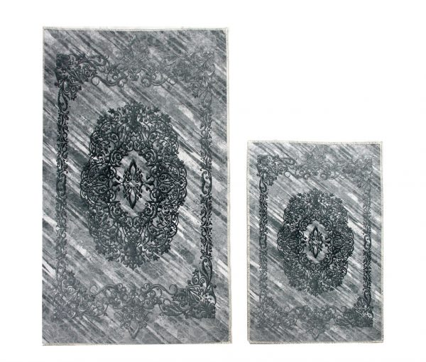 купить Набор ковриков Ella 60*100|40*60 EL1 GRI Серый фото