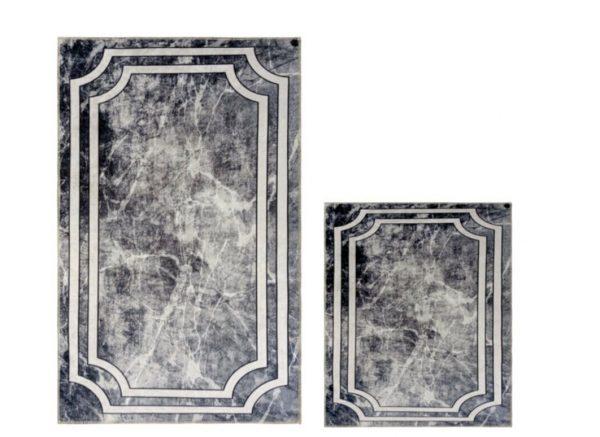 купить Набор ковриков Ella 60*100 40*60 EL3 GRI cERcEVELI Серый фото