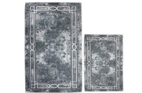 купить Набор ковриков Ella 60*100|40*60 EL5 GRI Серый фото