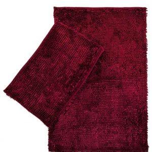 купить Набор ковриков LILO 40*60 60*100 Rose Бордовый фото