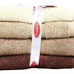 купить Набор полотенец в ванную RAINBOW Kahve 4шт Бежевый фото