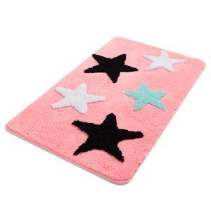 купить Коврик Chilai Home All Star Seker Pembe Розовый фото