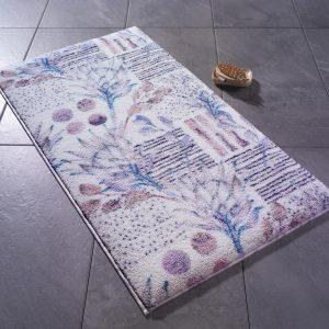 купить Коврик для ванной Confetti Artichoke Flower Beyaz Лиловый фото