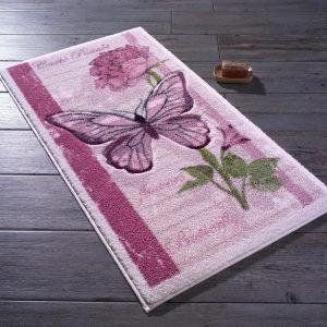 купить Коврик для ванной Confetti Carte Postale Pembe Розовый фото