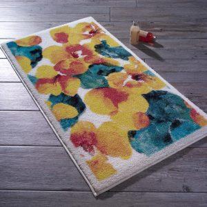 купить Коврик для ванной Confetti Flower Dust Sari Желтый фото
