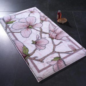 купить Коврик для ванной Confetti Interlace Pembe Розовый фото