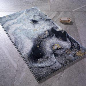 купить Коврик для ванной Confetti Liquid Gri Серый фото