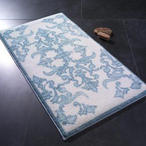 купить Коврик для ванной Confetti Shabby Damask Mavi Голубой фото