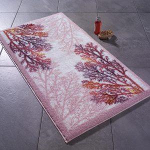 купить Коврик для ванной Confetti Coral Pembe Розовый фото