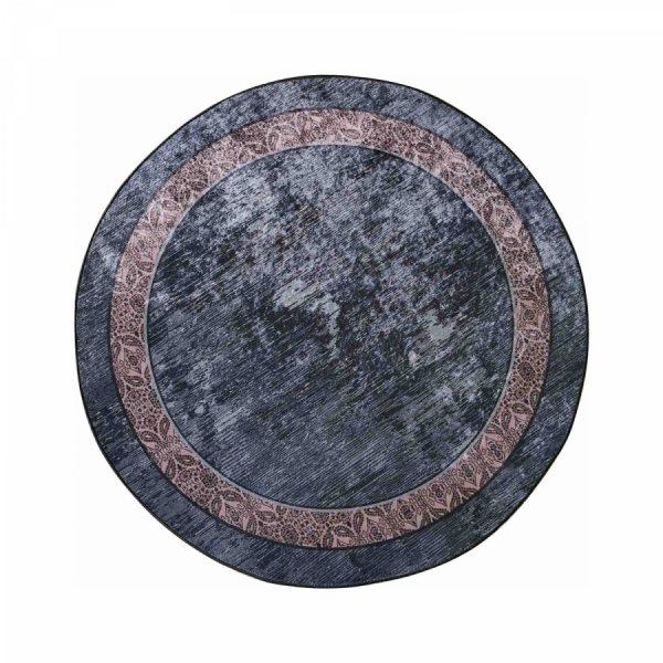 купить Коврик Karaca Home Mess 100*100 Черный|Серый фото
